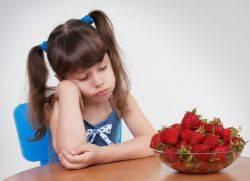 диета при аллергии у ребенка меню