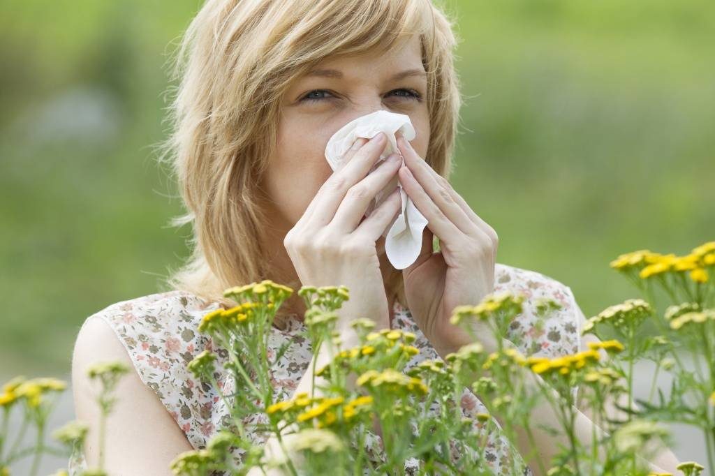 симптомы аллергии на растения, фото