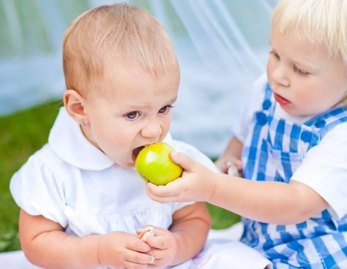 аллергия на яблоки симптомы