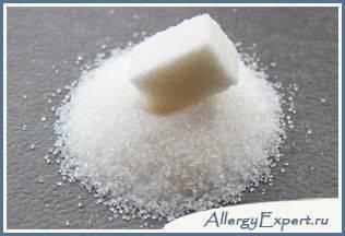 возможна ли аллергия на сахар