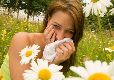 Аллергия на солнце и тепло