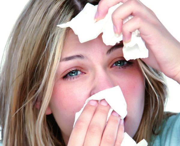 приступ аллергии