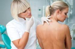 Диагностика аллергической сыпи на коже