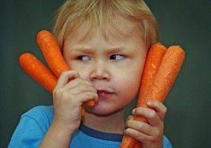 аллергия на морковь у ребенка