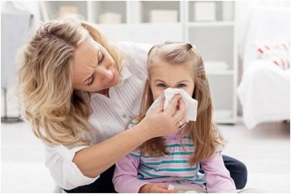 Аллергия на пыль у детей симптомы