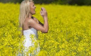 Как лечить аллергию травами?