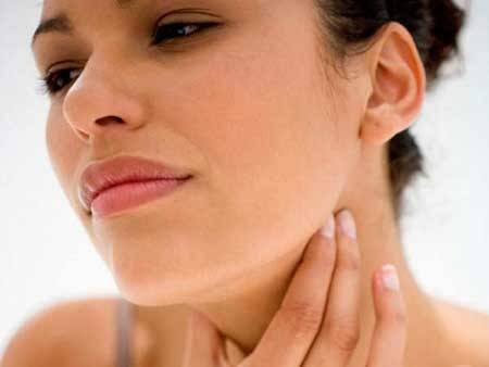 Аллергия при заболеваниях горла