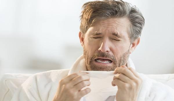 чиханье и насморк при аллергии