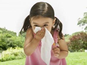 Алергия на пыльцу у ребенка