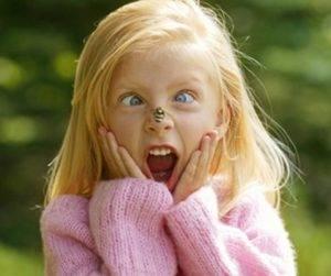 Алергия на укус насекомых у ребенка