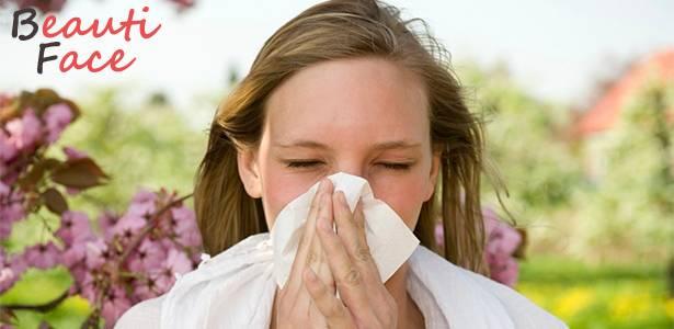 Реакция организма на аллергию