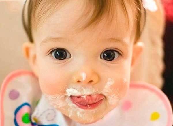 Как проявляется аллергия на молочную кашу