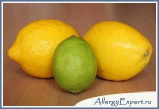 аллергия на лимонную кислоту