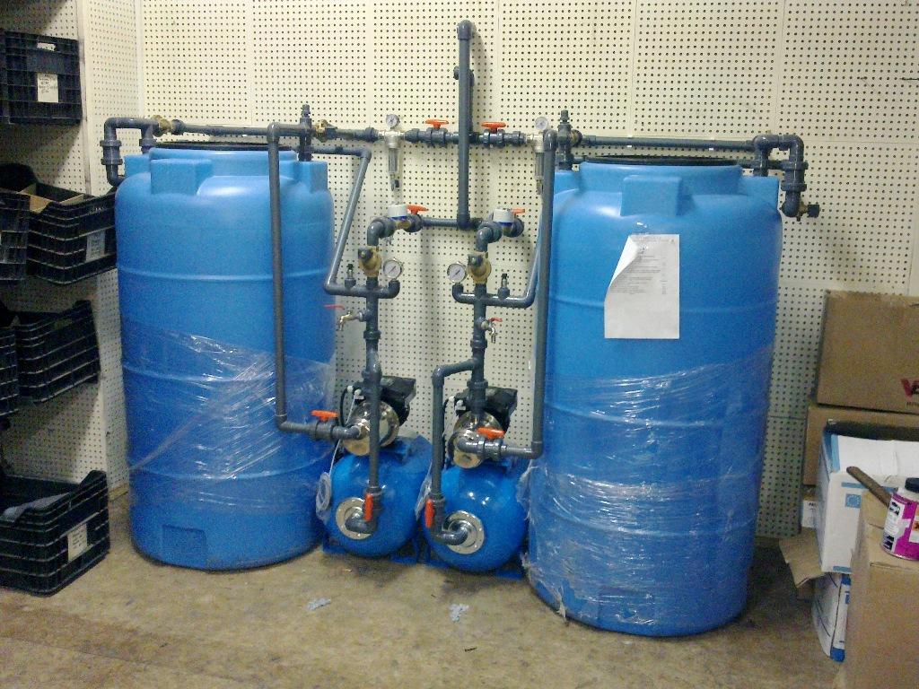Очистка воды от железа для частного дома